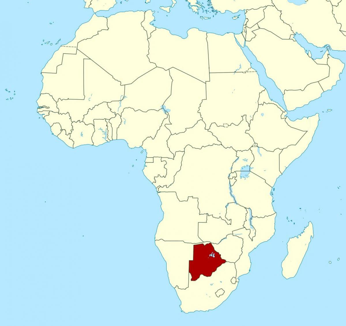 Botswana South Africa Map.Botswana Africa Map Map Of Botswana Africa Southern Africa Africa
